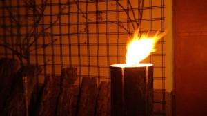 Baumfackel, Schwedenfeuer